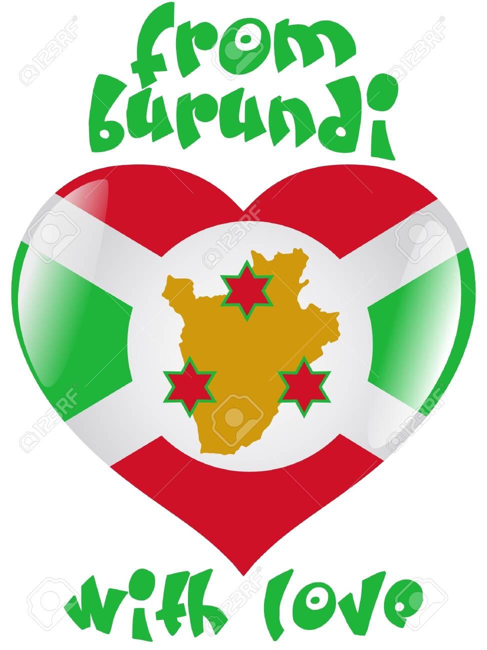 From Burundi with love Stock Vector - 11899548