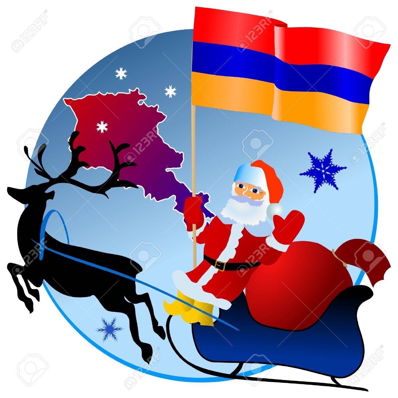 Merry Christmas, Armenia! Royalty Free Cliparts, Vectors, And ...