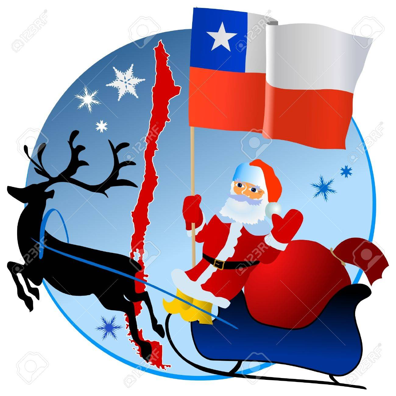 Merry Christmas, Chile! Royalty Free Cliparts, Vectors, And Stock ...