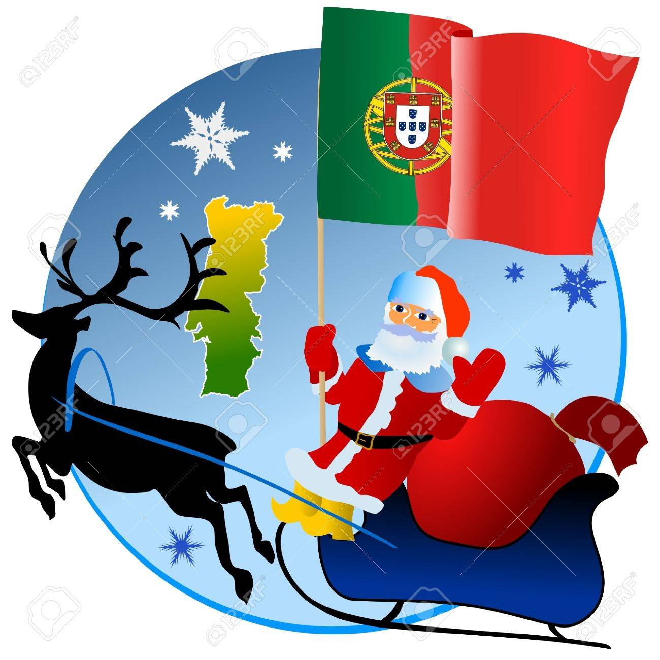 Merry Christmas, Portugal! Royalty Free Cliparts, Vectors, And ...