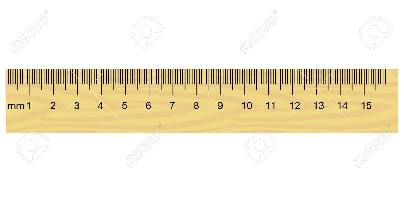 worksheet Ruler Measurement illustration of wooden ruler royalty free cliparts vectors and stock vector 12495616