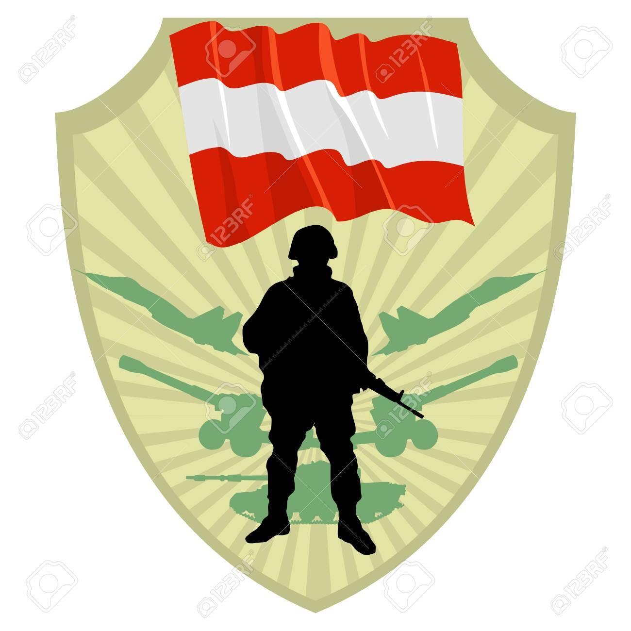 Army of Austria Stock Vector - 13322658