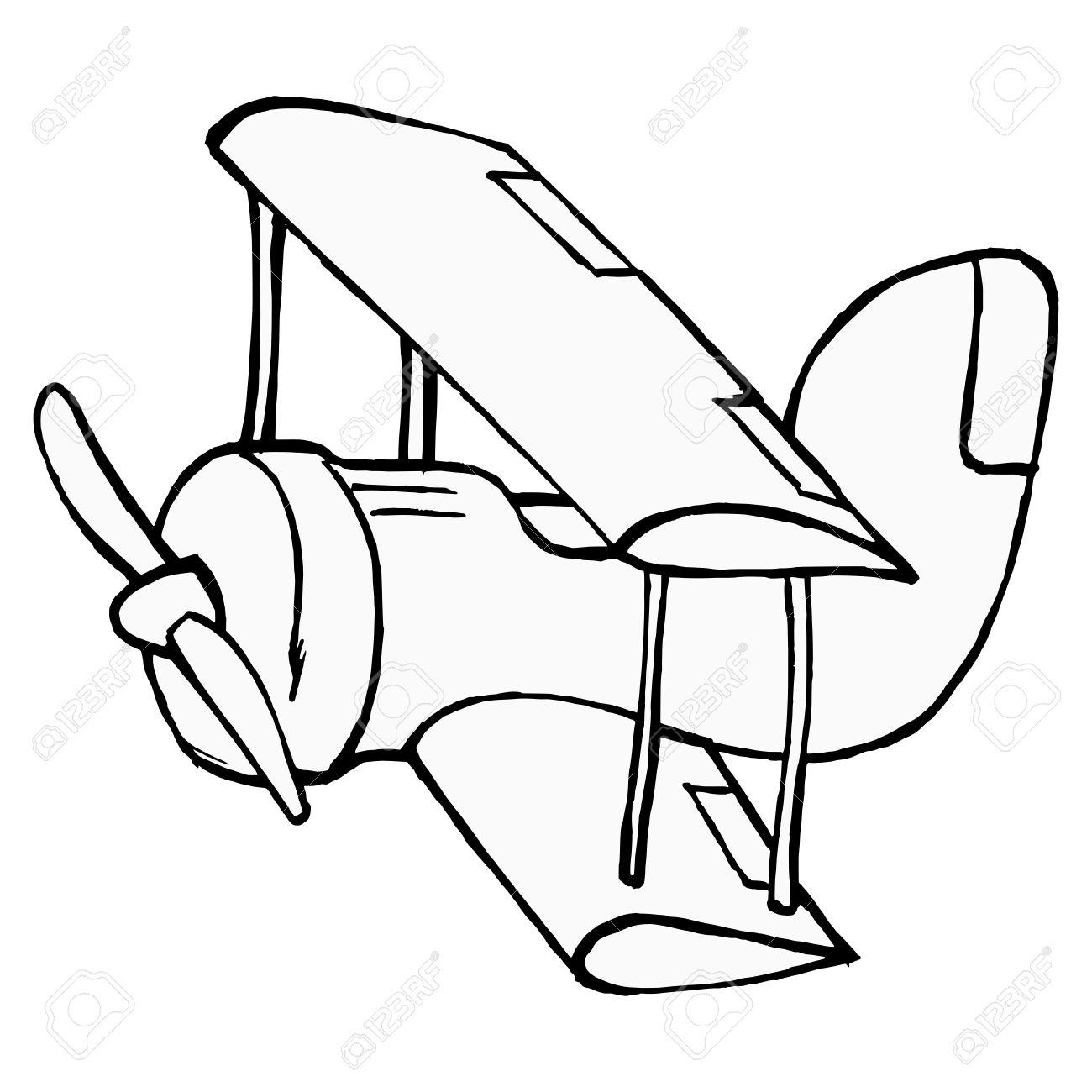 banque dimages dessins la main dessin anim illustration de jouet avion