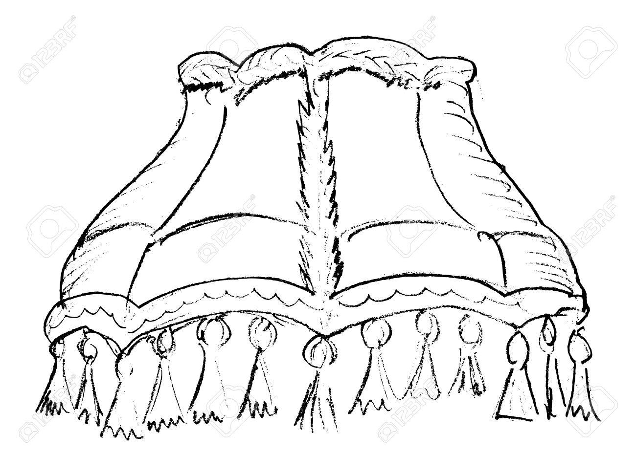 Hand Drawn Vector Sketch Illustration Of Lampshade Royalty Free Cliparts Vectors And Stock Illustration Image 21387285