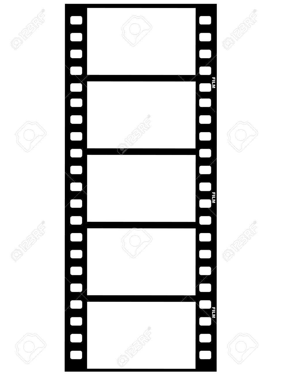 outline illustration of film strip royalty free cliparts vectors rh 123rf com film strip clipart border film strip clip art free