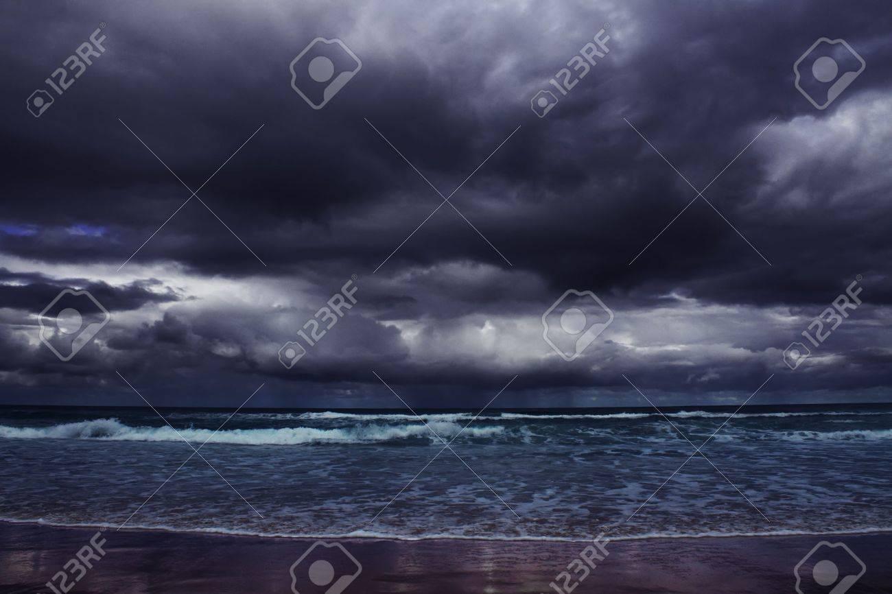 storm on the sea Stock Photo - 13498943