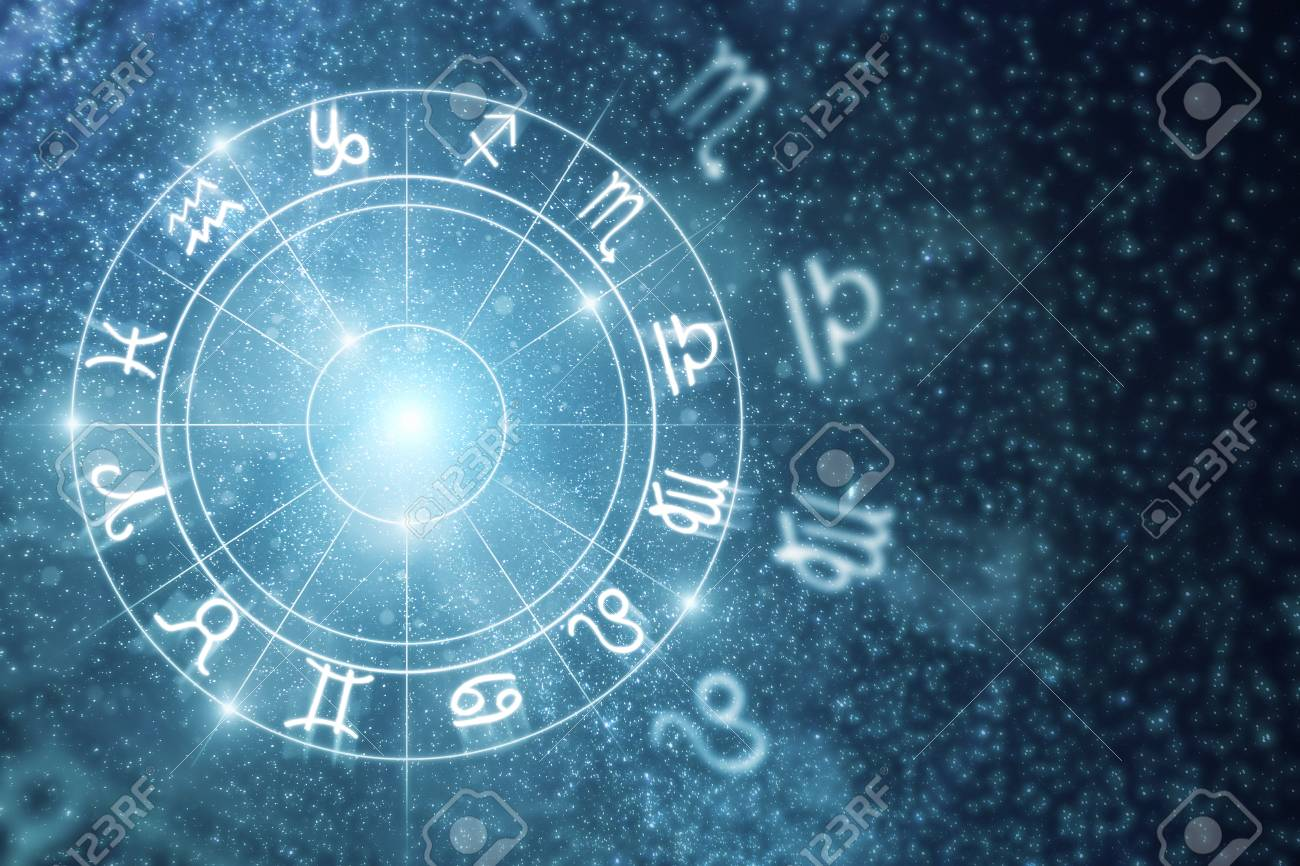 Creative Glowing Astrologic Zodiac Horoscope Wallpaper Astrology