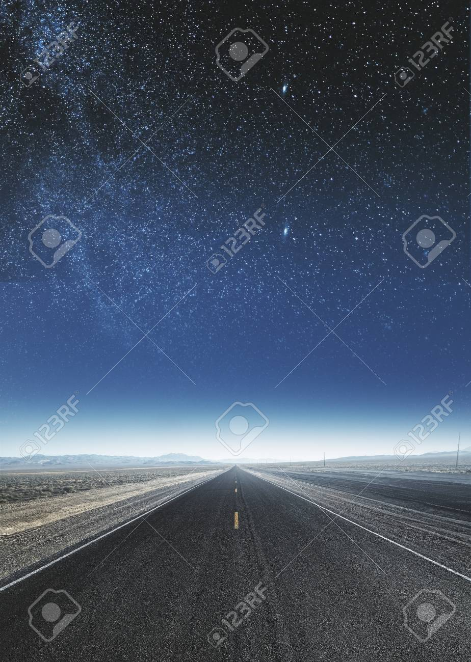 Creative Sky Road Background Art And Wallpaper Concept