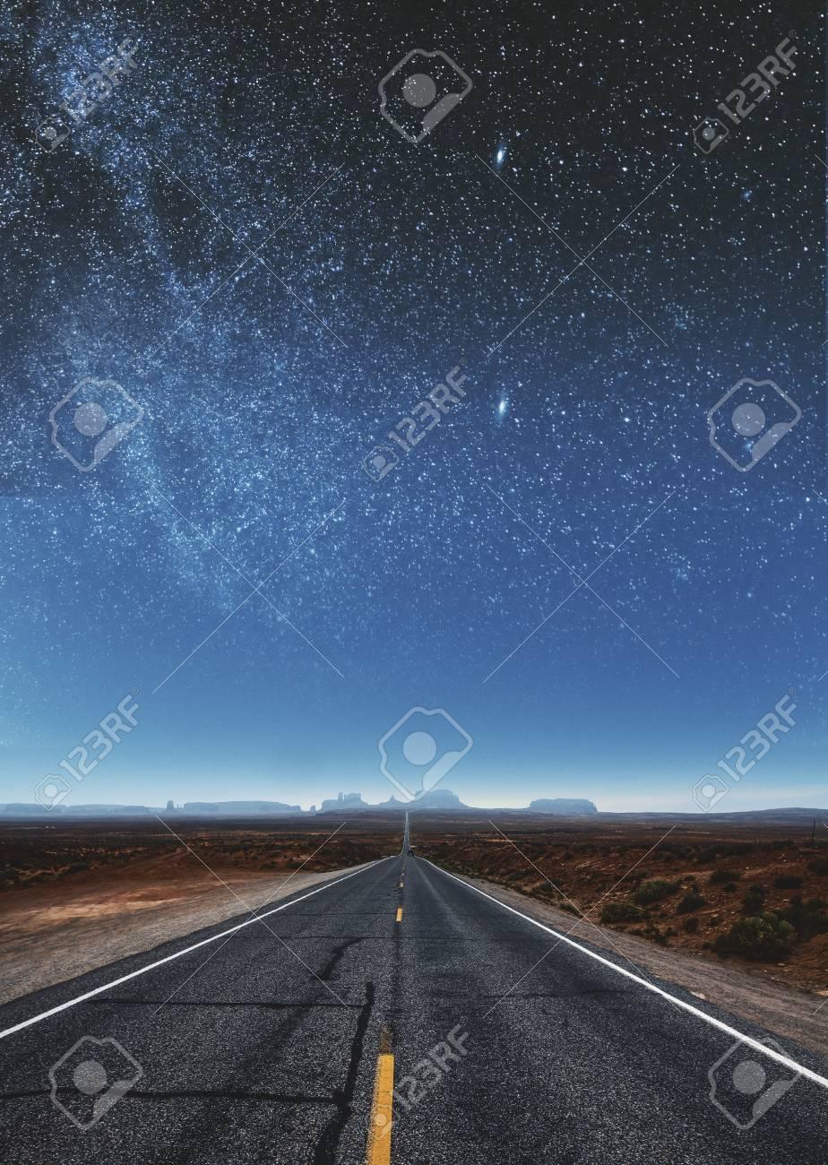 Creative Sky Road Wallpaper Art And Backdrop Concept
