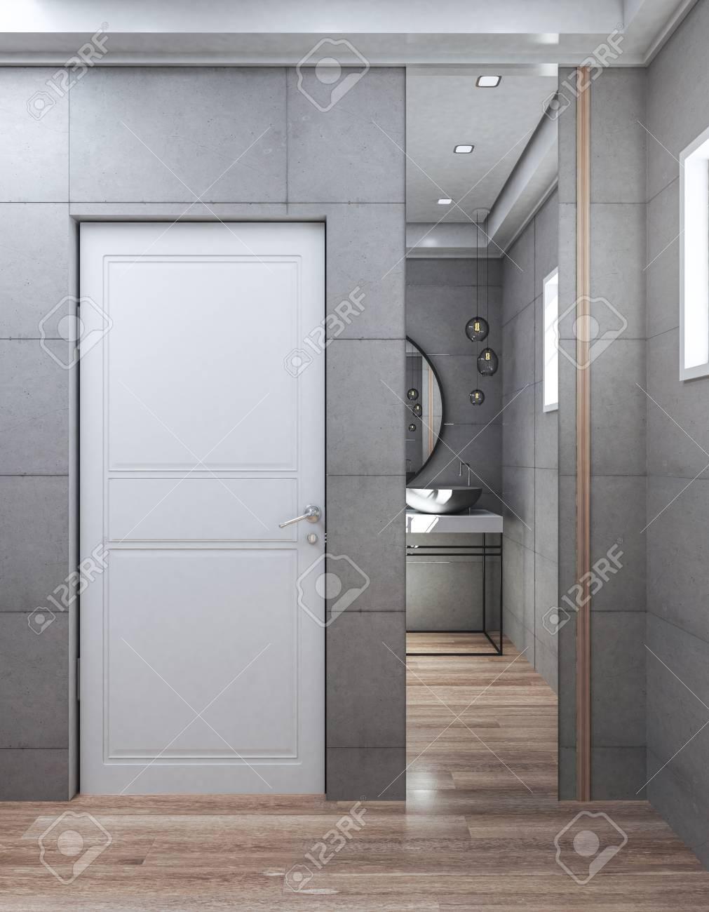 Modern Bathroom Door Design Images