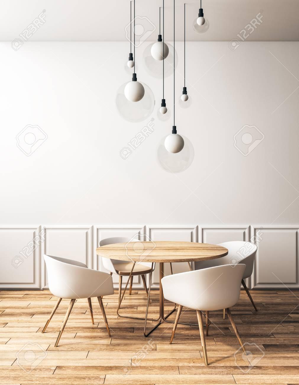 Contoh Desain Interior Desain Interior Cafe Klasik