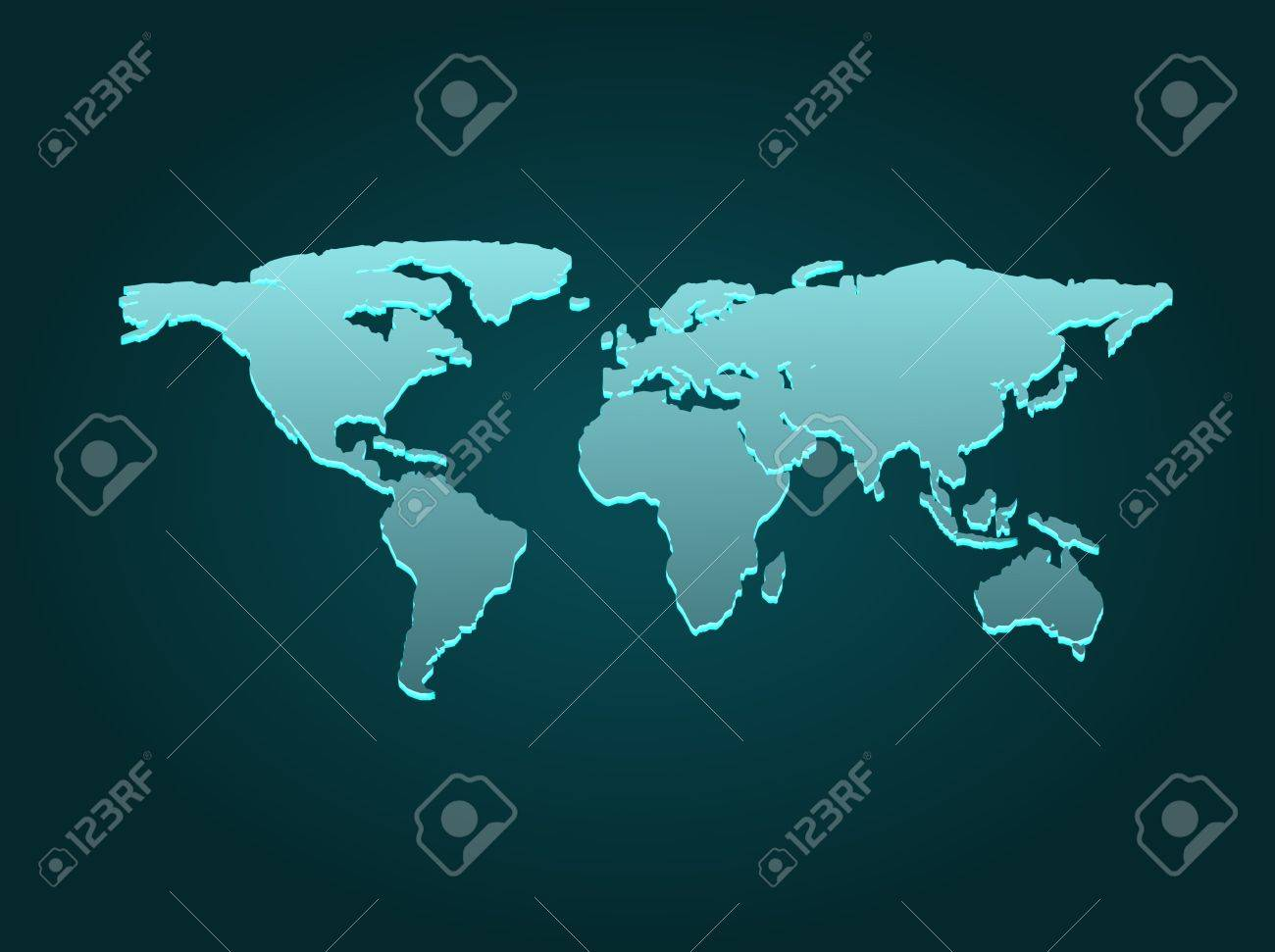 Blue business world map with countries borders fotos retratos blue business world map with countries borders foto de archivo 11788903 gumiabroncs