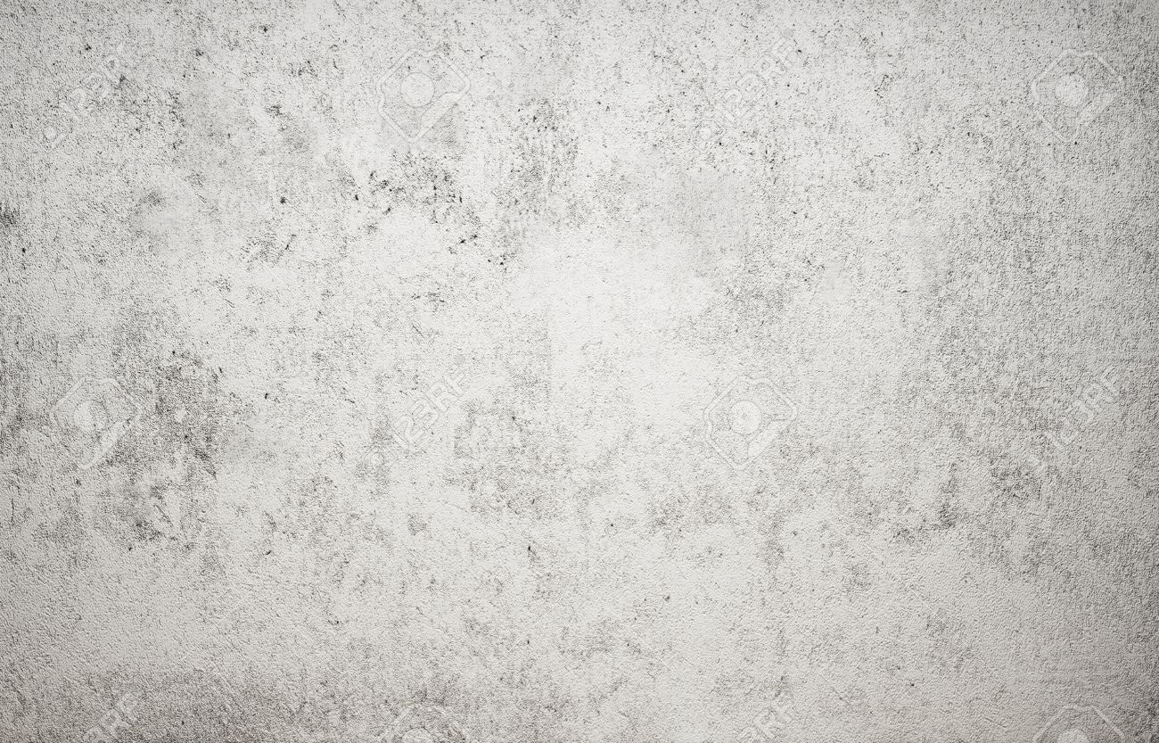 High Resolution White Concrete Wall Textured Stock Photo