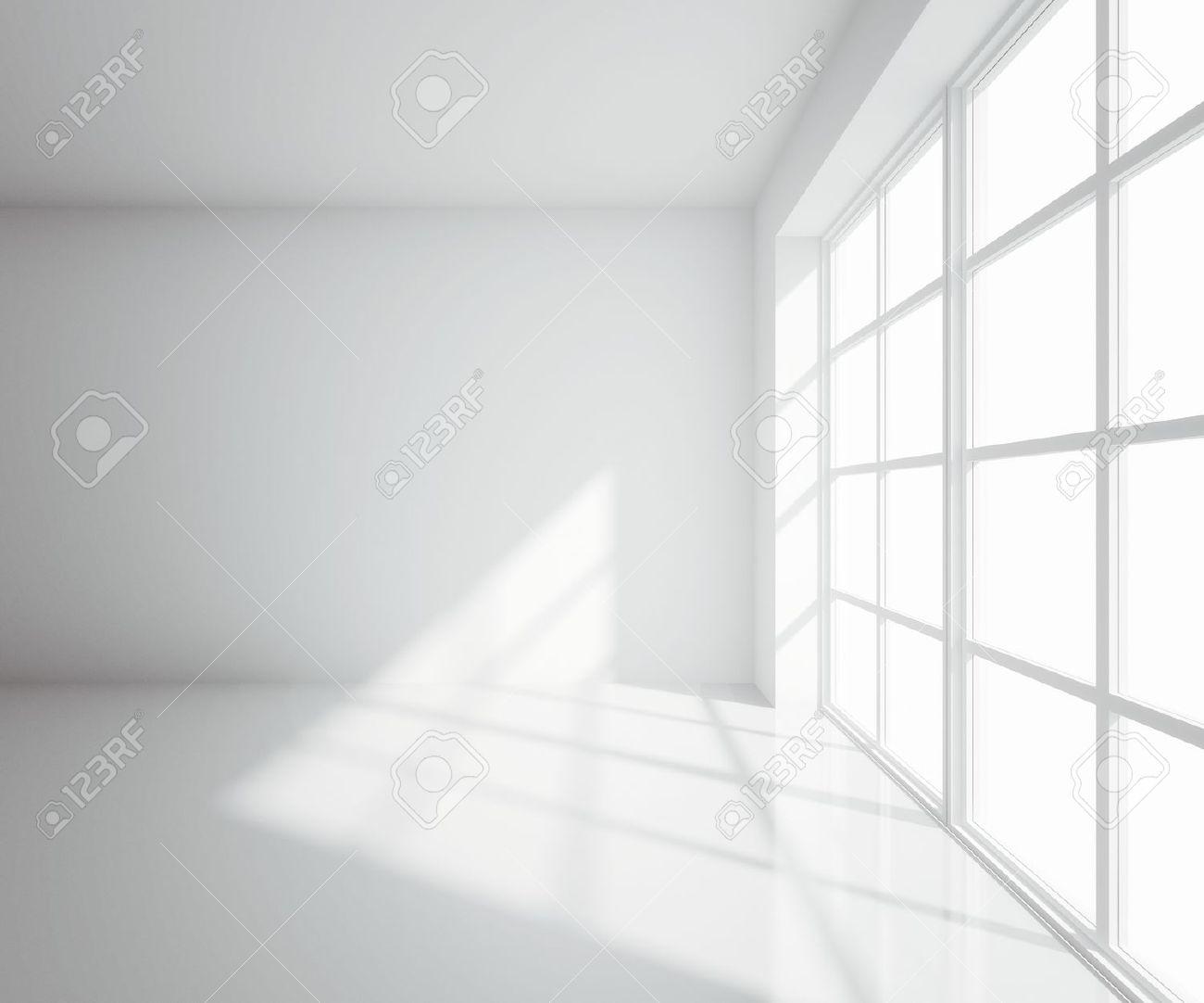 light white room with window - 15061679