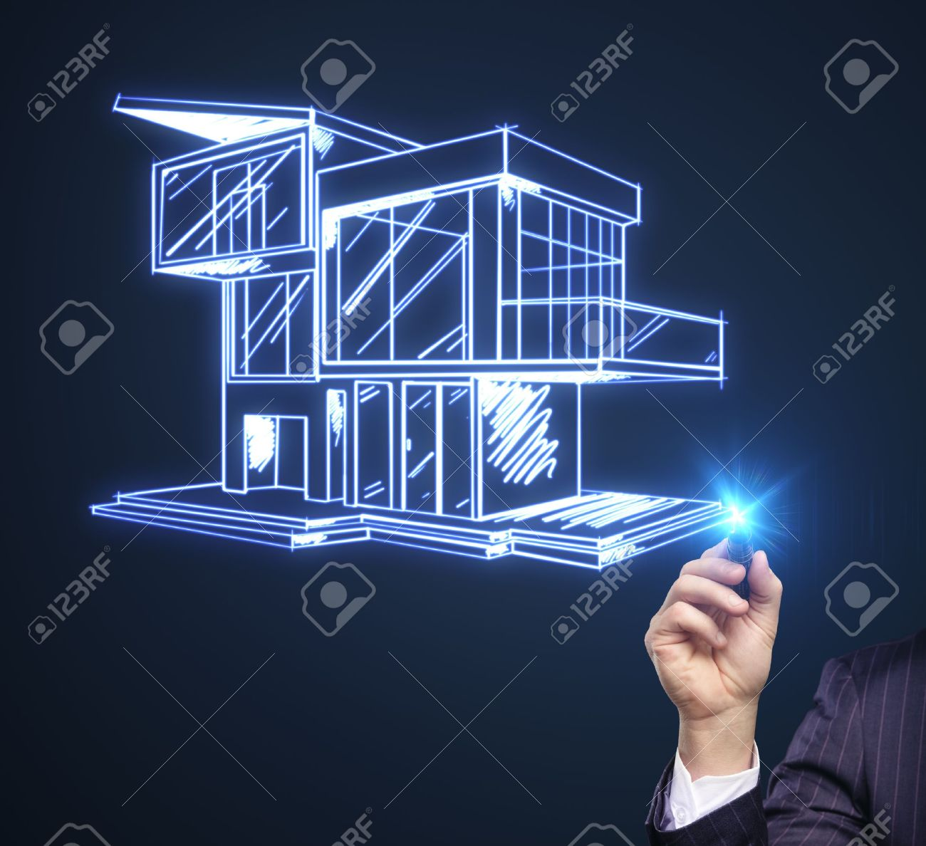 House Plan Stock Photos Images. oyalty Free House Plan Images nd ... - ^