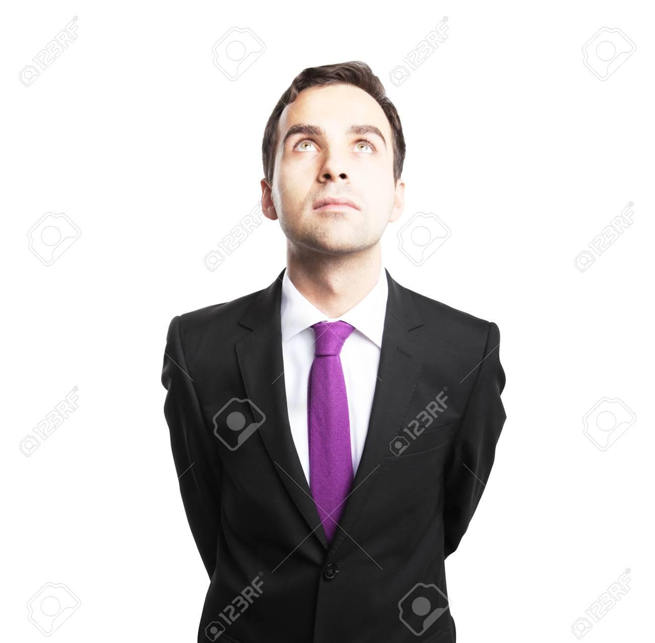 businessman on a white background Stock Photo - 16763784