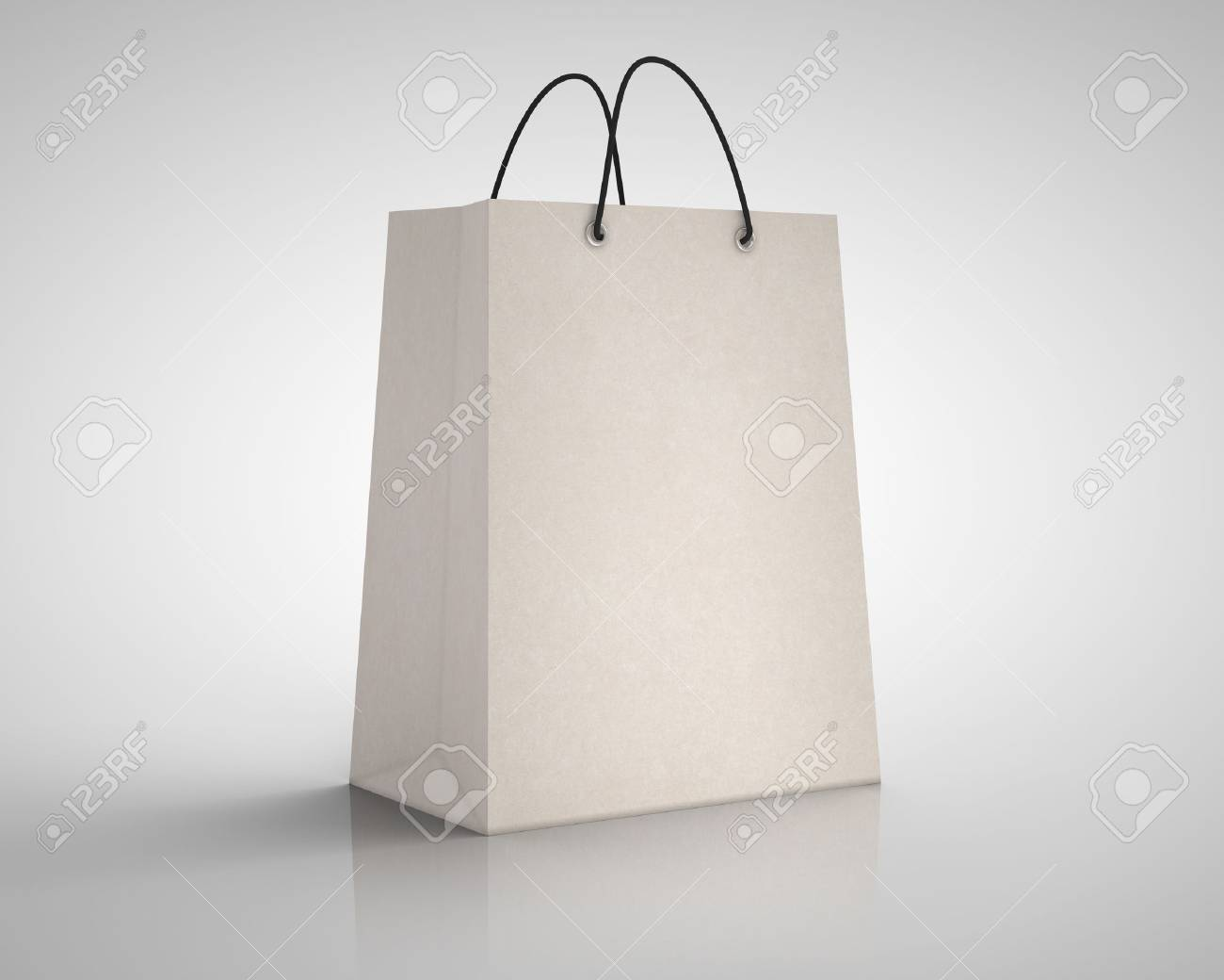 brown craft paper package  closeup Stock Photo - 18488799