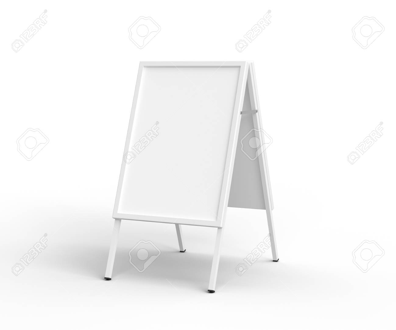 sandwich board on a white background Stock Photo - 19090264