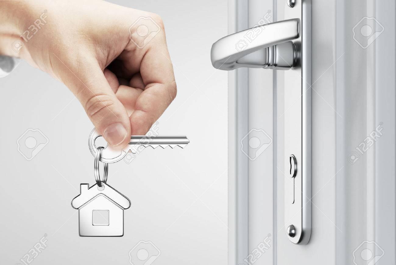 Hands-on key door