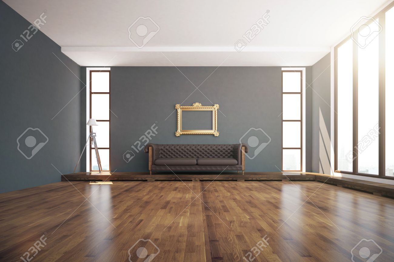 Strange Luxurious Interior Design With Wooden Floor Dark Grey Walls Gmtry Best Dining Table And Chair Ideas Images Gmtryco
