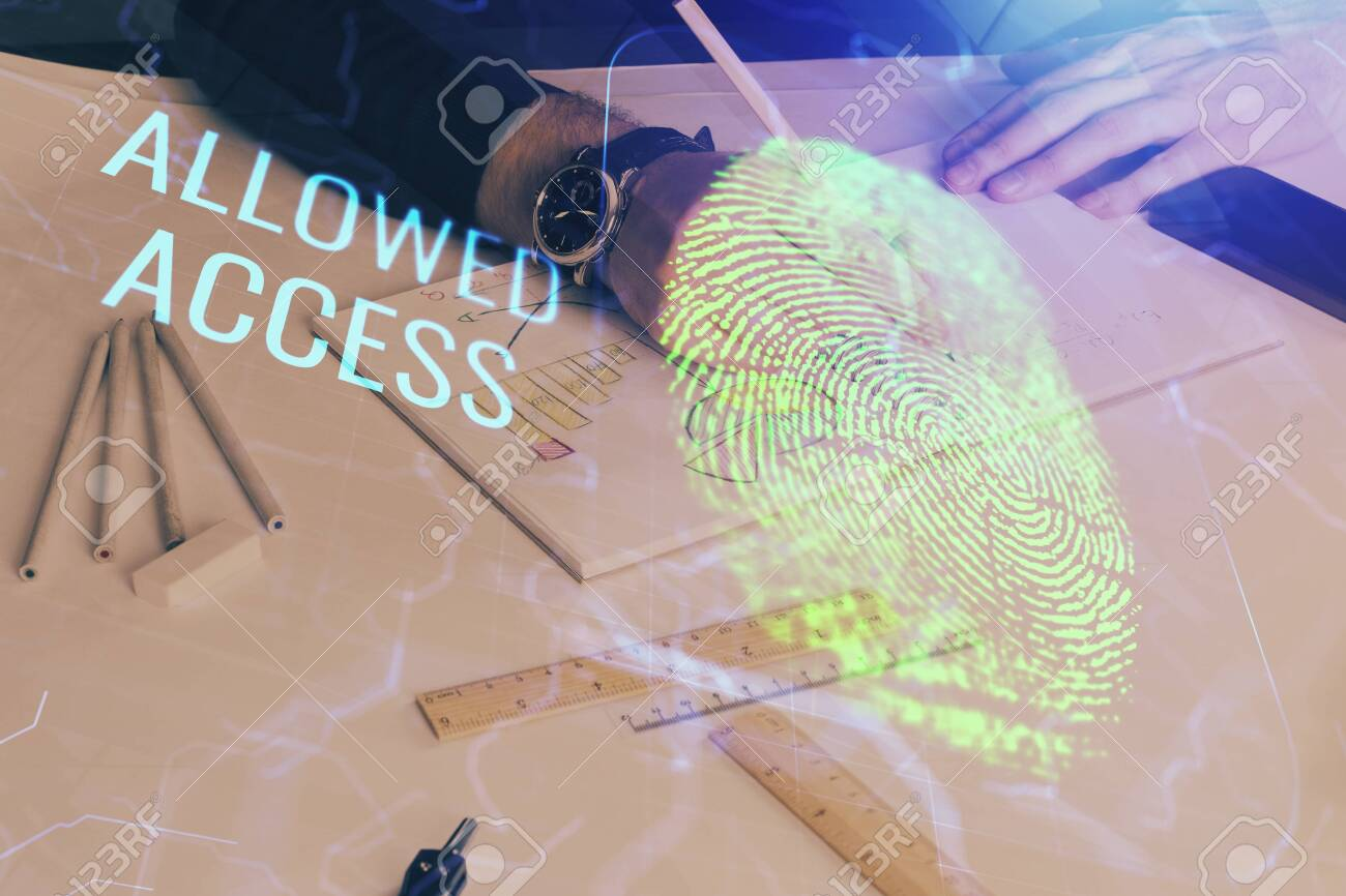 Concept of the future of security and password control through