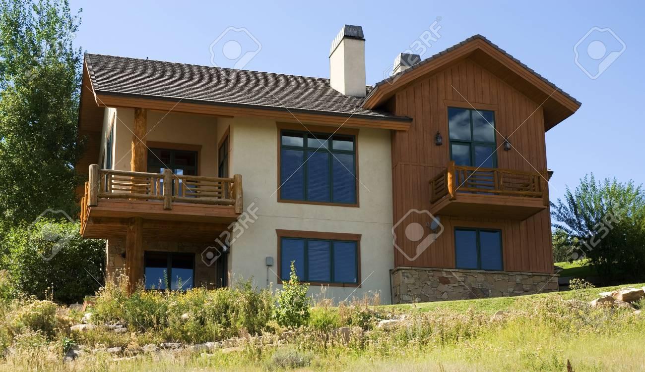 Mountain home Stock Photo - 1932774