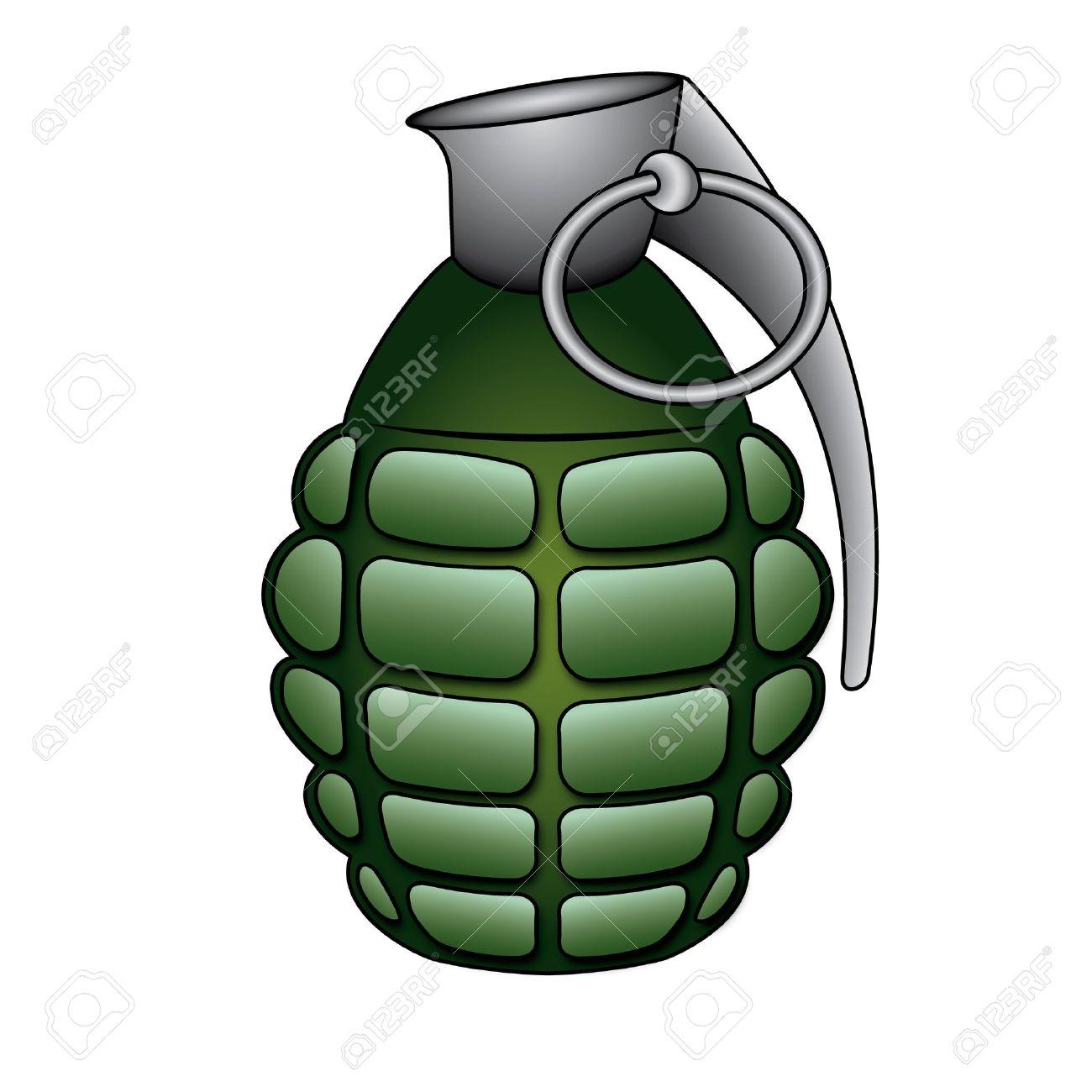 Hand grenade Stock Vector - 12947835