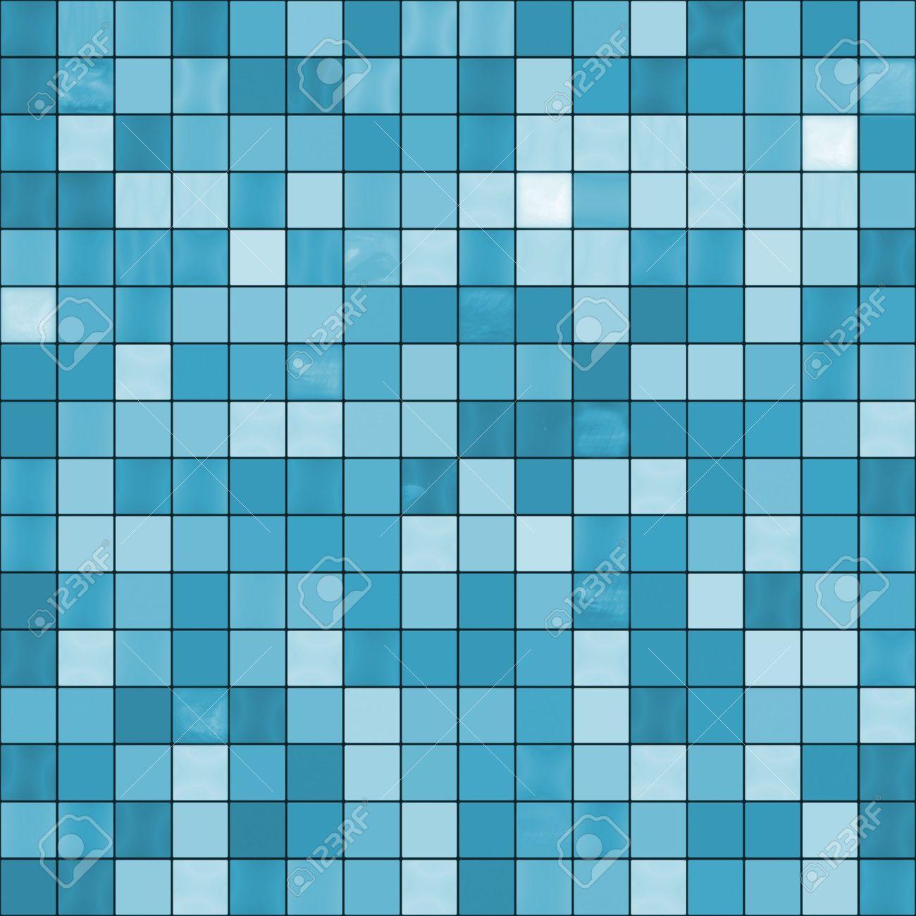grandes azulejos azules de fondo sin fisuras listo para texturas y foto de