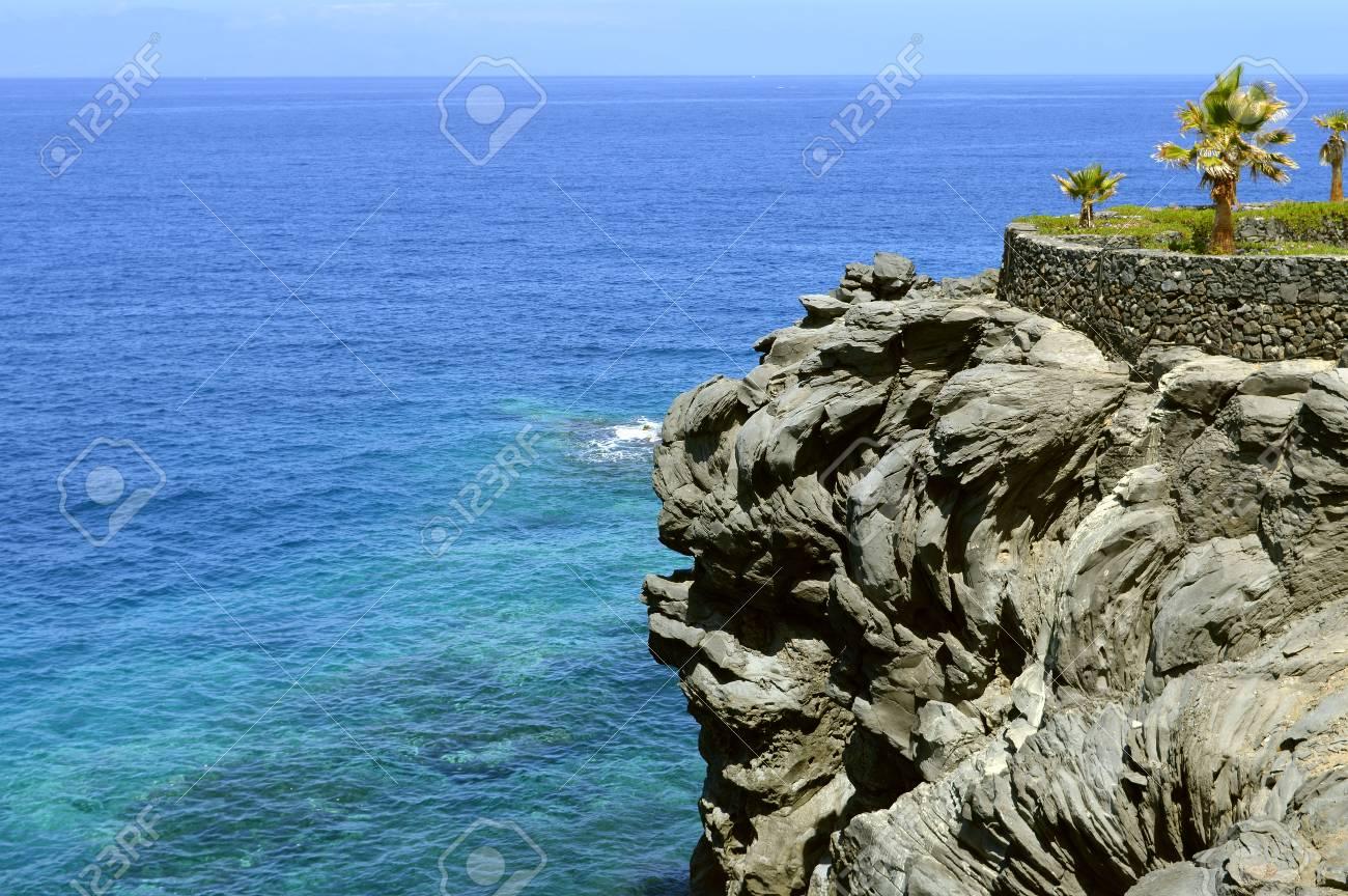 Callao Salvaje Küste Vulkanischen Felsformation In Adeje Teneriffa Lizenzfreie Fotos Bilder Und Stock Fotografie Image 90605611