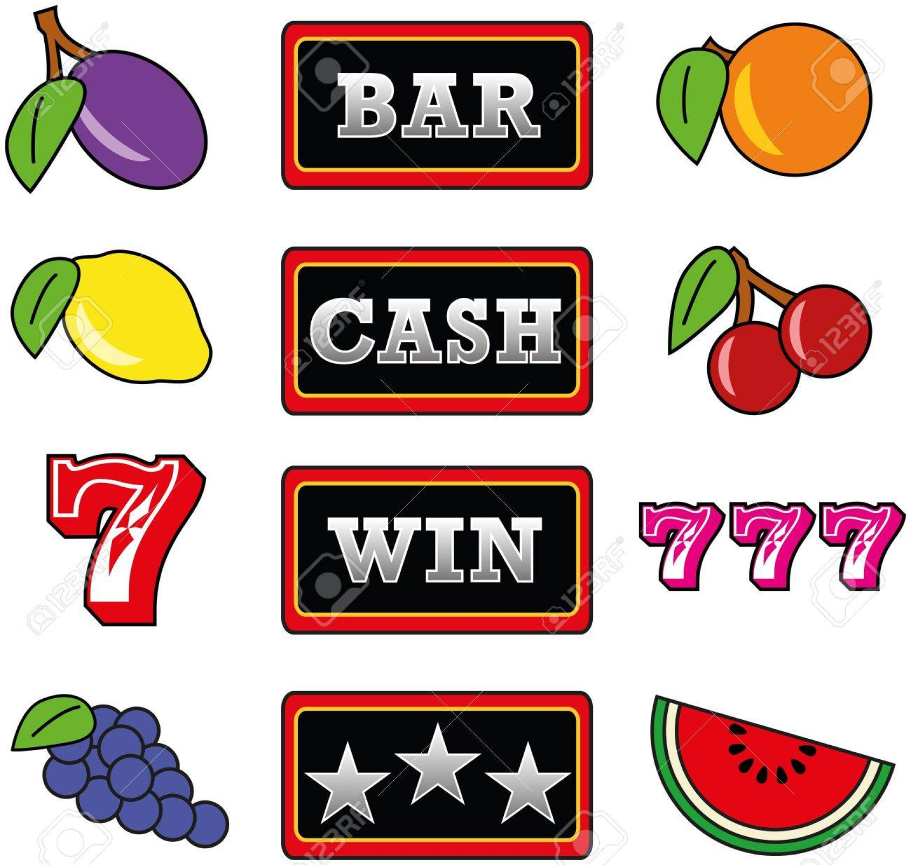 867 Cherry Slot Machine Symbol Stock Illustrations, Cliparts And ...