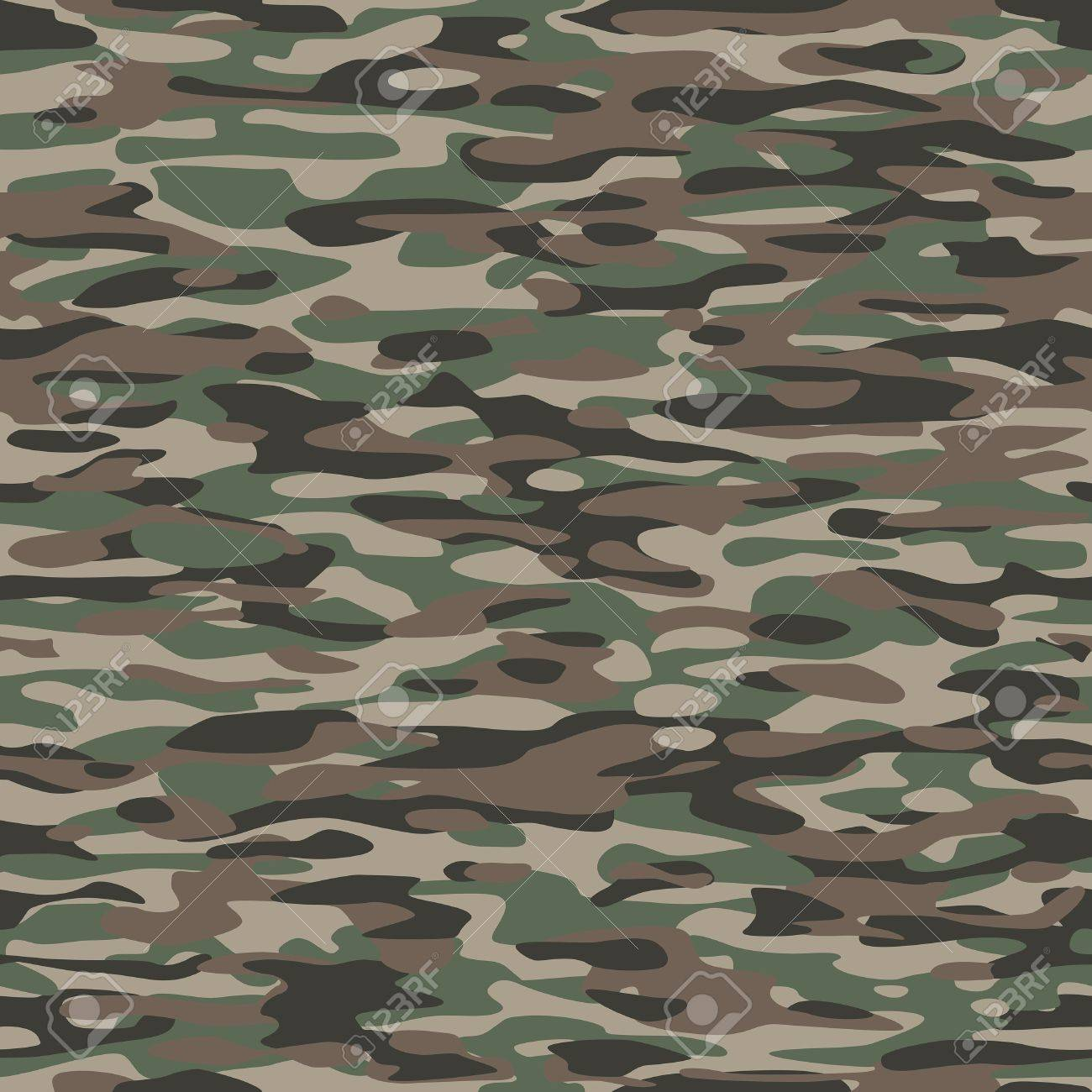 カモフラージュ織物のパターン ...