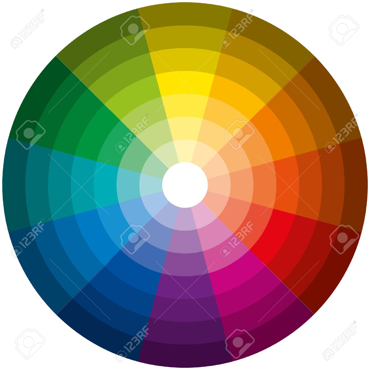 Color wheel graphic design popular with photos of color wheel exterior at design