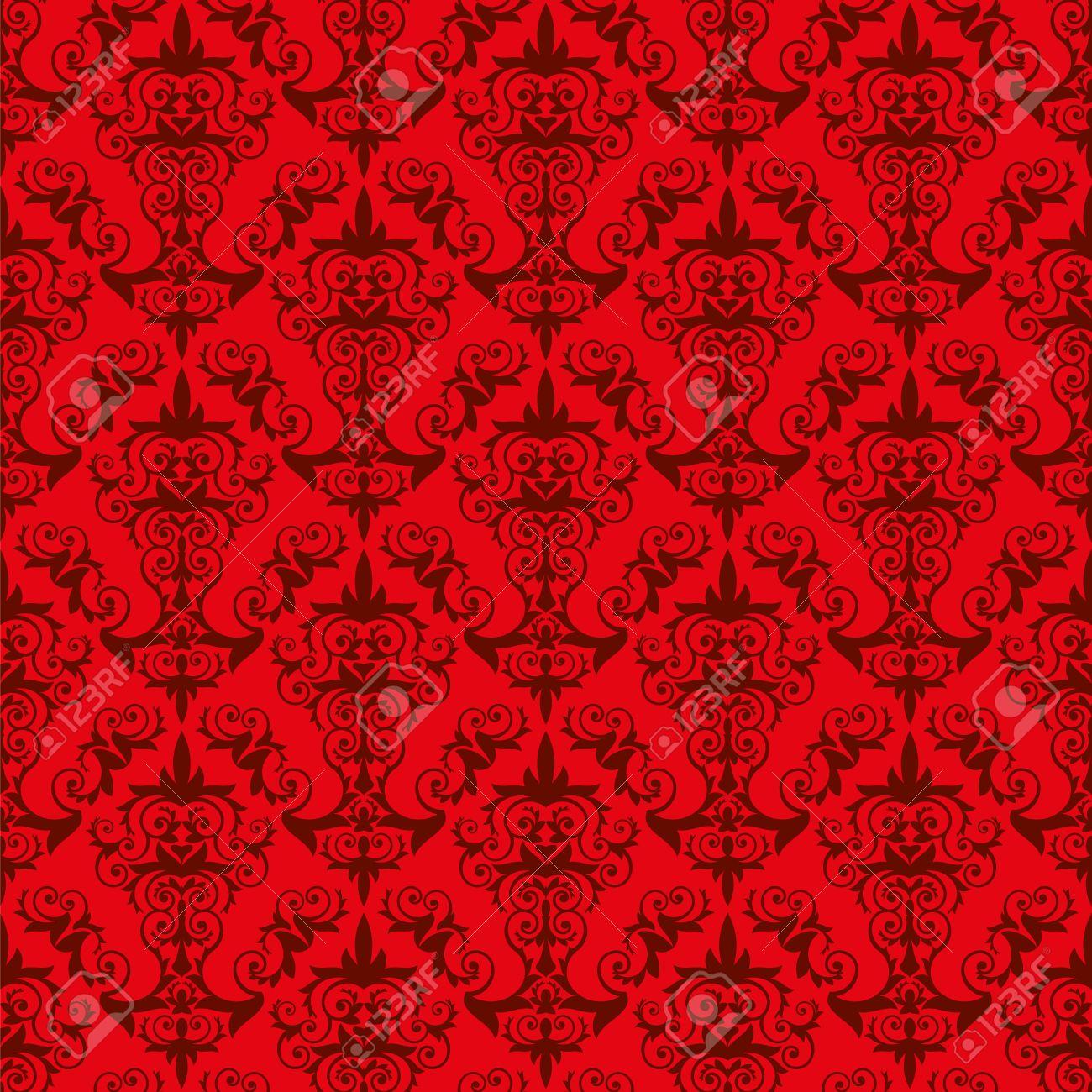 Cool Cool Gallery Of Rote Eine Elegante Tapete Stil Mit Floralen Elementen  Die Fliese With Weie Tapete Mit Muster With Tapete Muster With Tapeten Mit  Muster