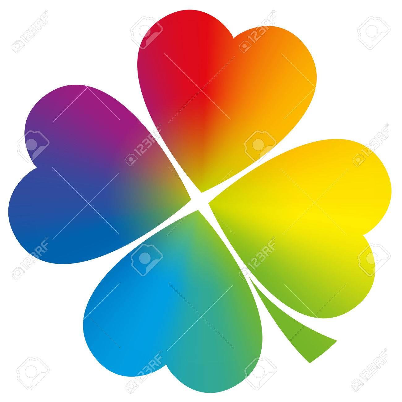 Atractivo Páginas Para Colorear De Trébol De Cuatro Hojas Para ...