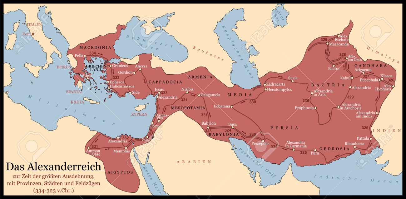 Conquest of the Persian Empire Alexander 334 323 BC