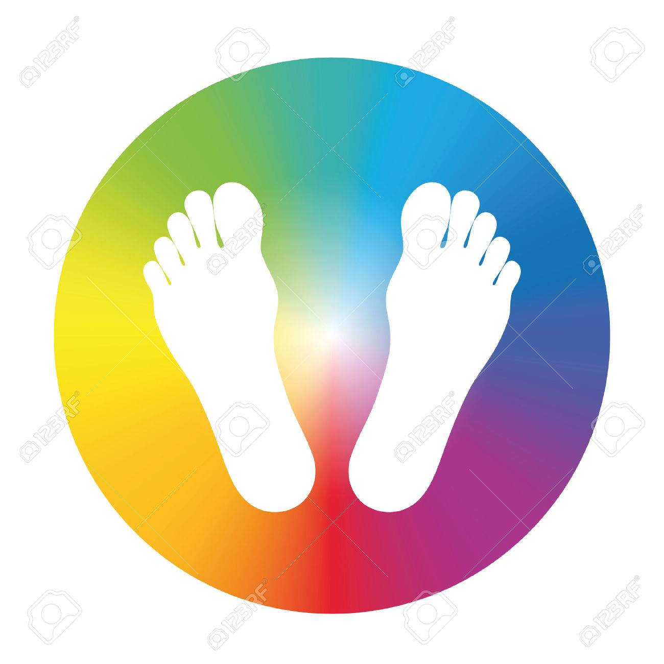 Feet in a rainbow colored wheel to write your text in it or as a feet in a rainbow colored wheel to write your text in it or as biocorpaavc Gallery