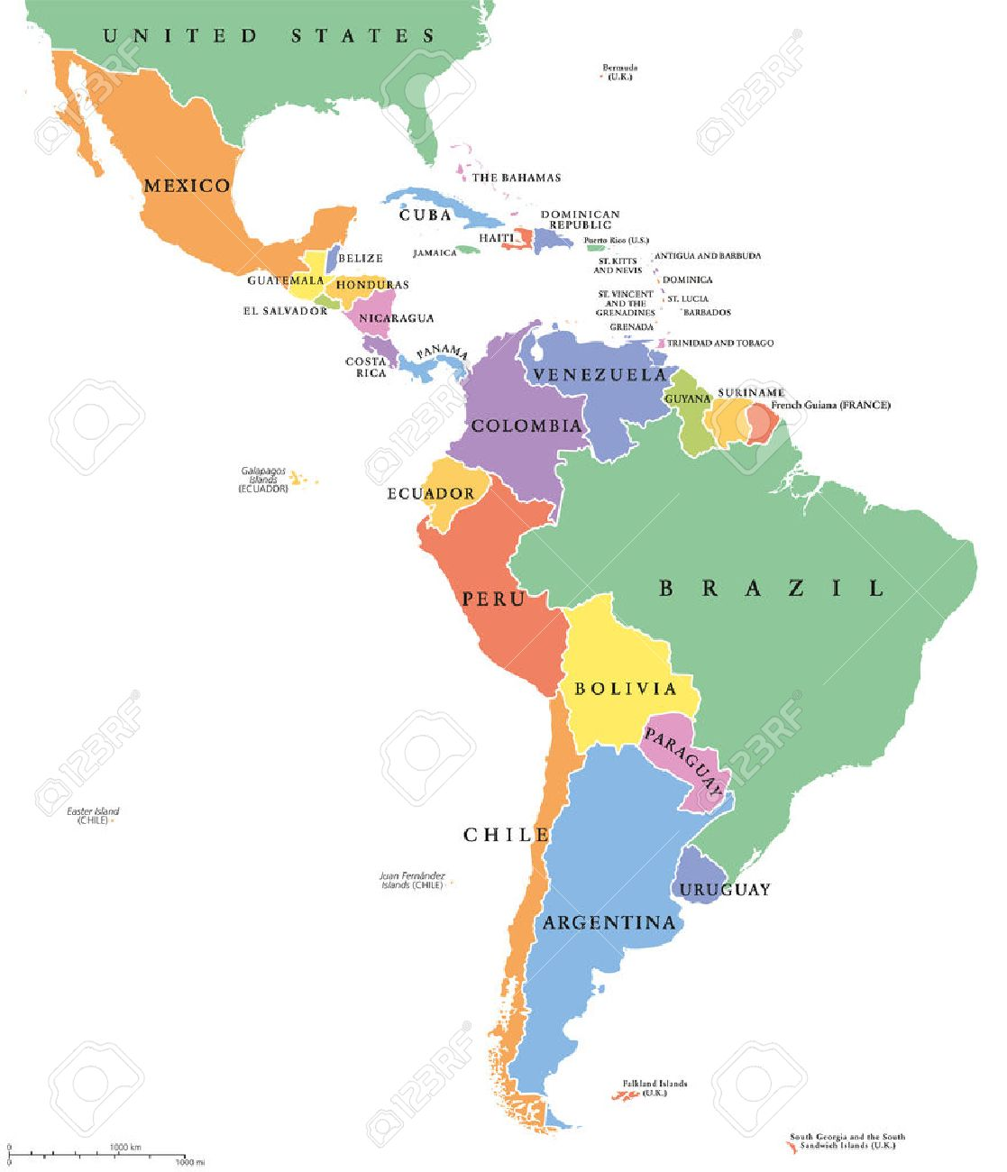 Maps Update 574737 Map of South America Including Mexico Geo – Map of South Mexico