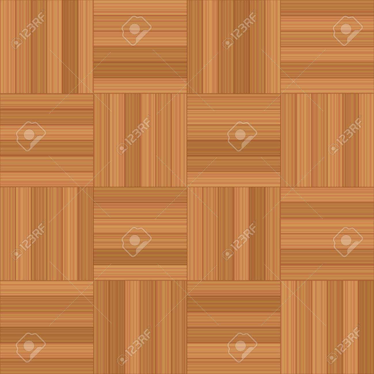 Mosaic Parquet Vector Illustration Of Square Wooden Floor Pattern