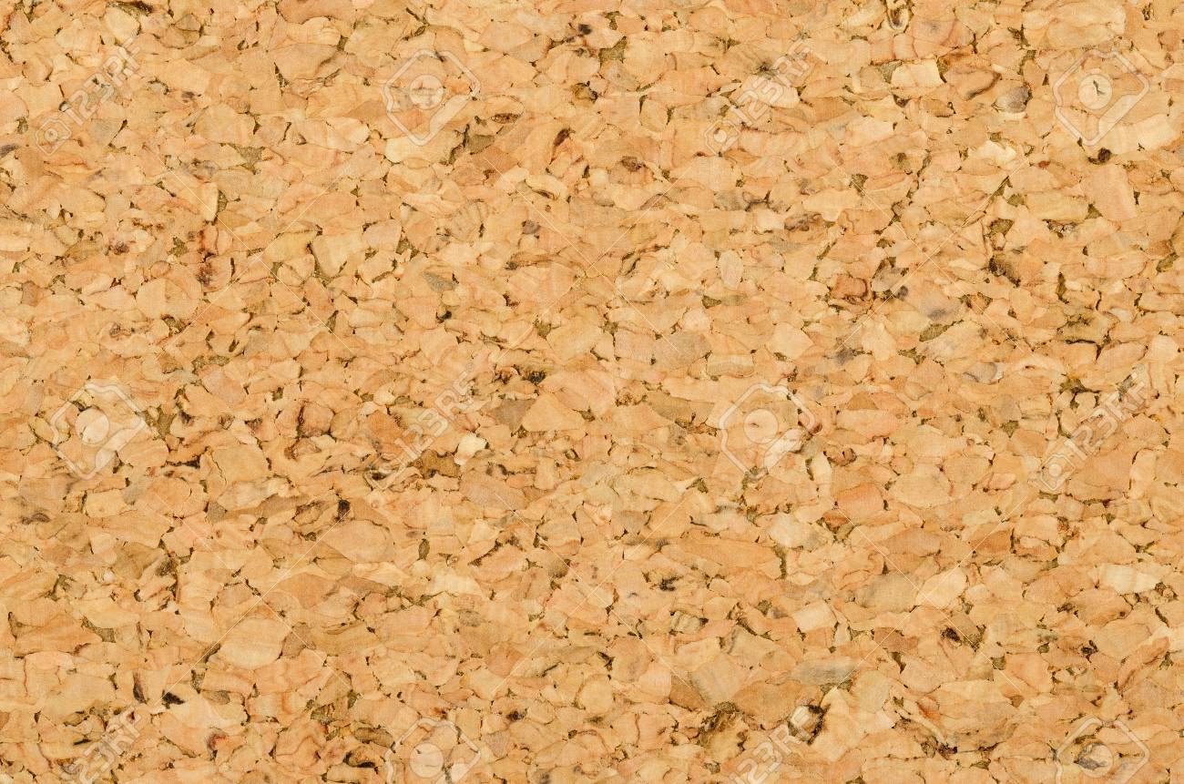 Cork Sheet Surface With Fine Texture, Comprised Of Small Grained ...