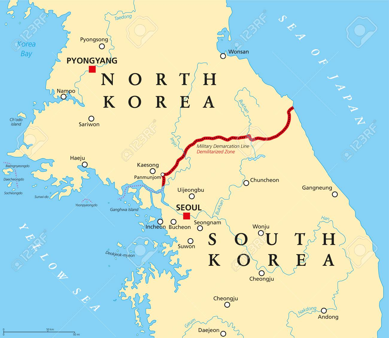Korean Peninsula, Demilitarized Zone, political map. North and.. on china map, formosa map, usa map, camp humphreys map, wwii map, rwanda map, hong kong map, persia map, asia map, seoul map, euro countries map, korean peninsula map, korean war map, ireland map, united states map, japan map, iran map, europe map, russia map,