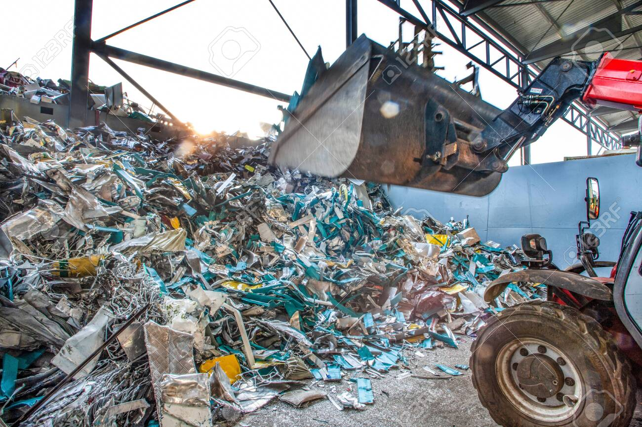recycling industry, helping to save the resources of our planet and protect our planet and climate change - 140516385