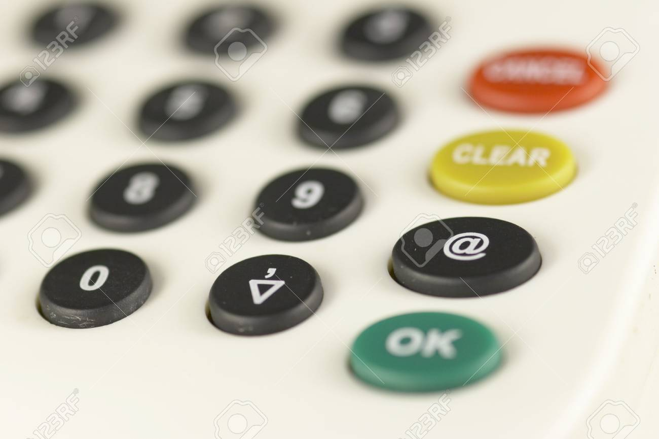 details of a card reader for internet banking Stock Photo - 800059
