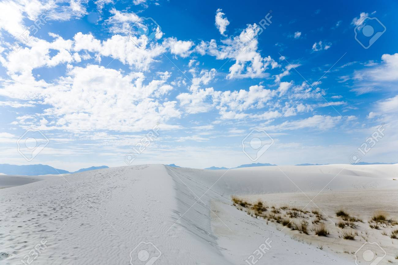 White Sands National Monument in New Mexico, USA Stock Photo - 3806270