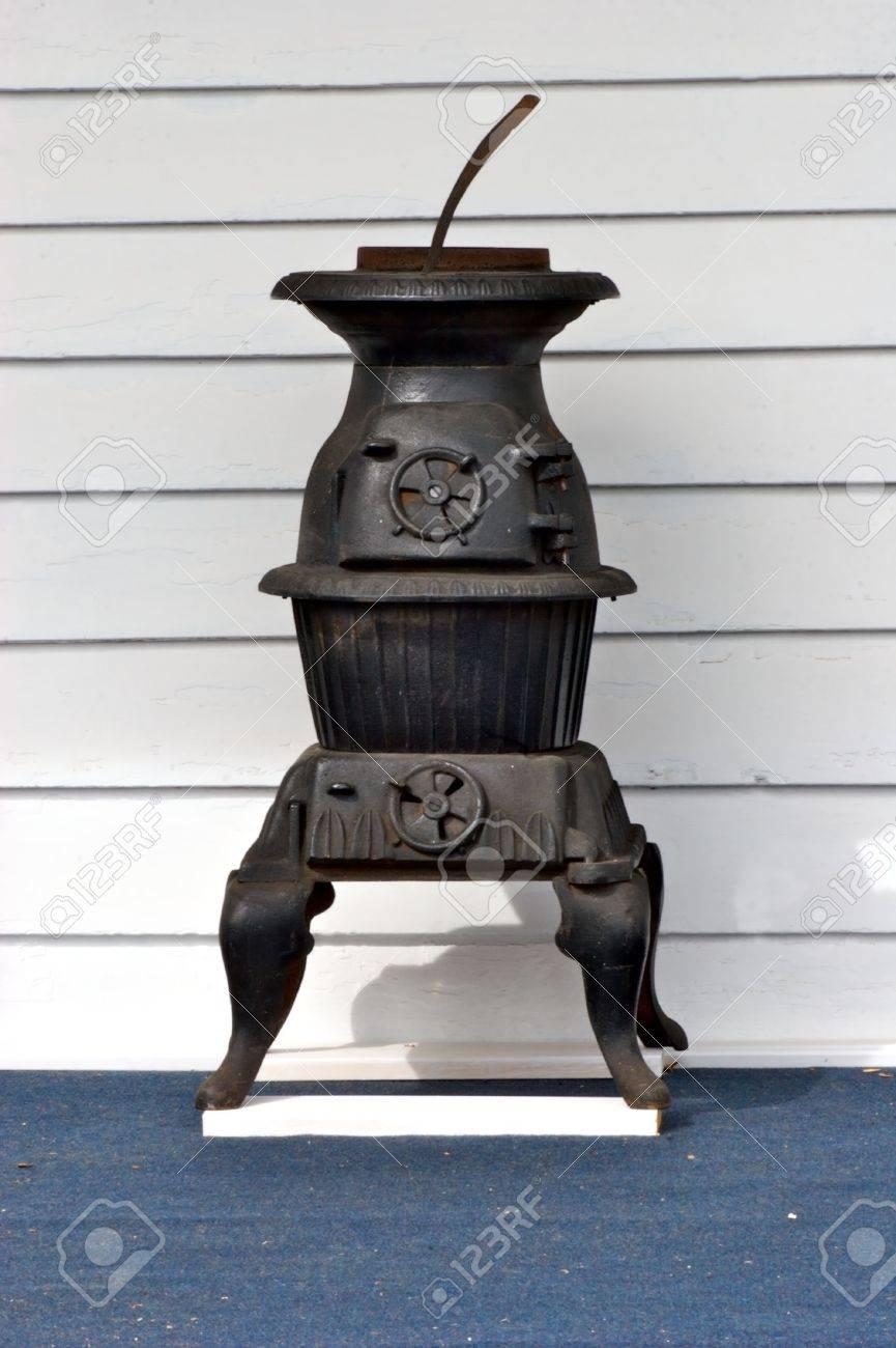 Old black wood burning stove Stock Photo - 569635 - Old Black Wood Burning Stove Stock Photo, Picture And Royalty Free