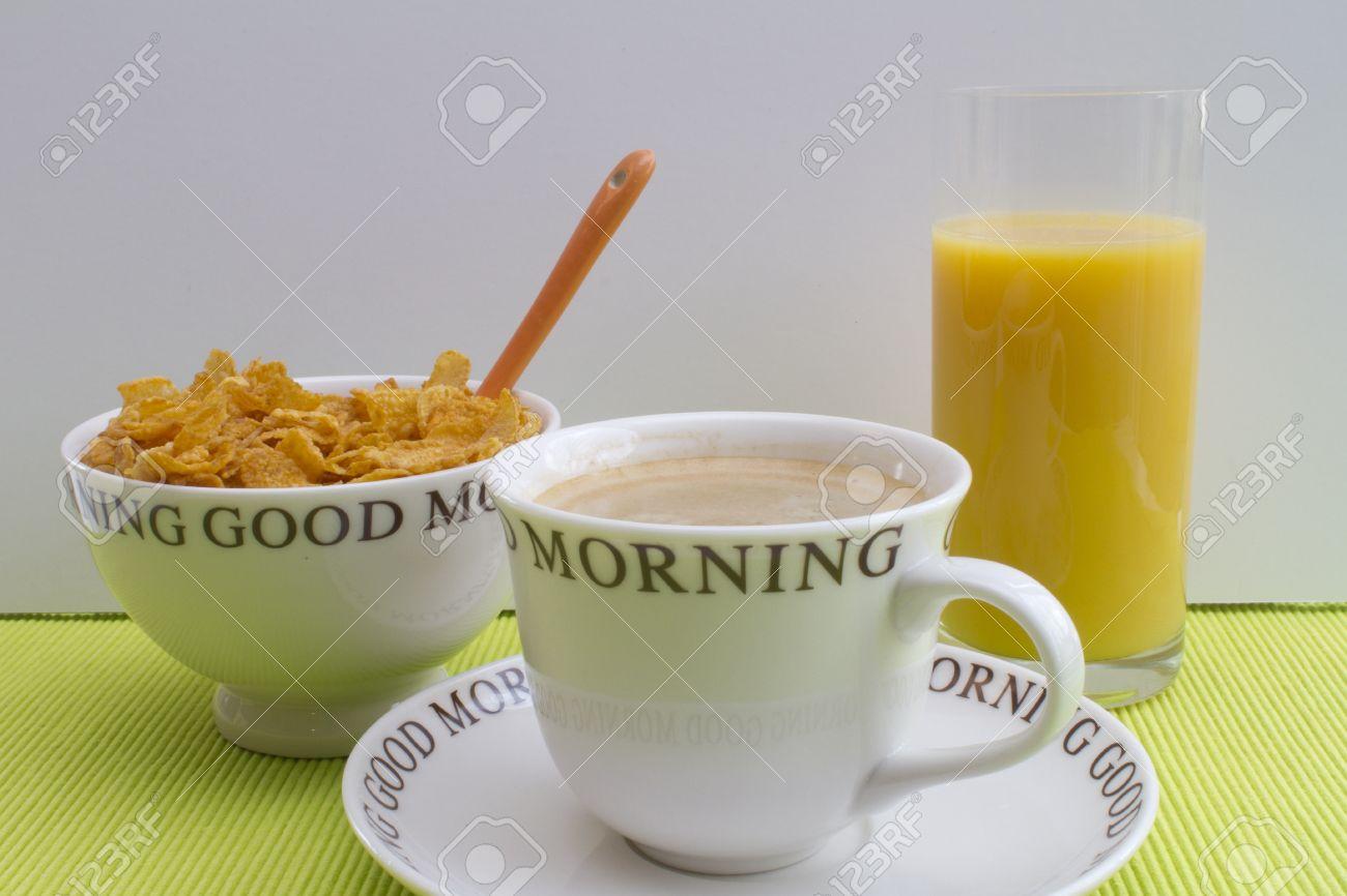 Good Morning Full Breakfast Stock Photo - 12674855