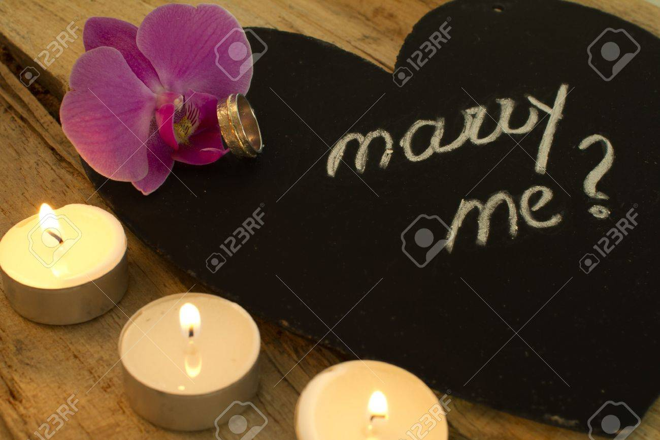 will you marry me Stock Photo - 12665341