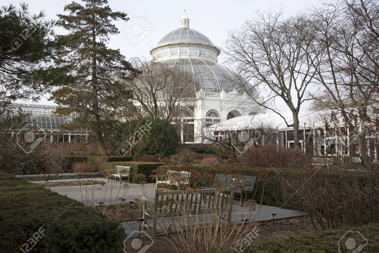 The Haupt Conservatory At The New York Botanical Garden In The ...