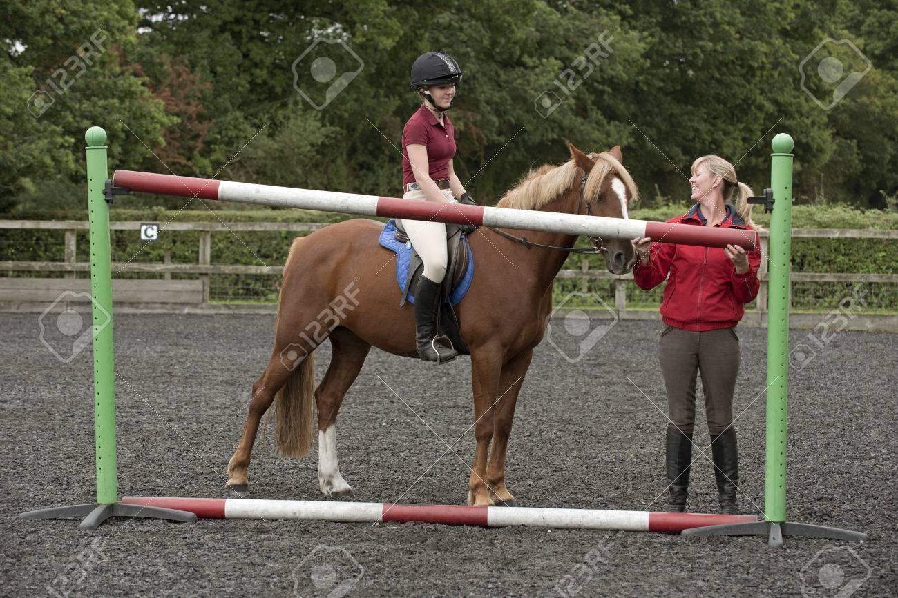 poney hauteur