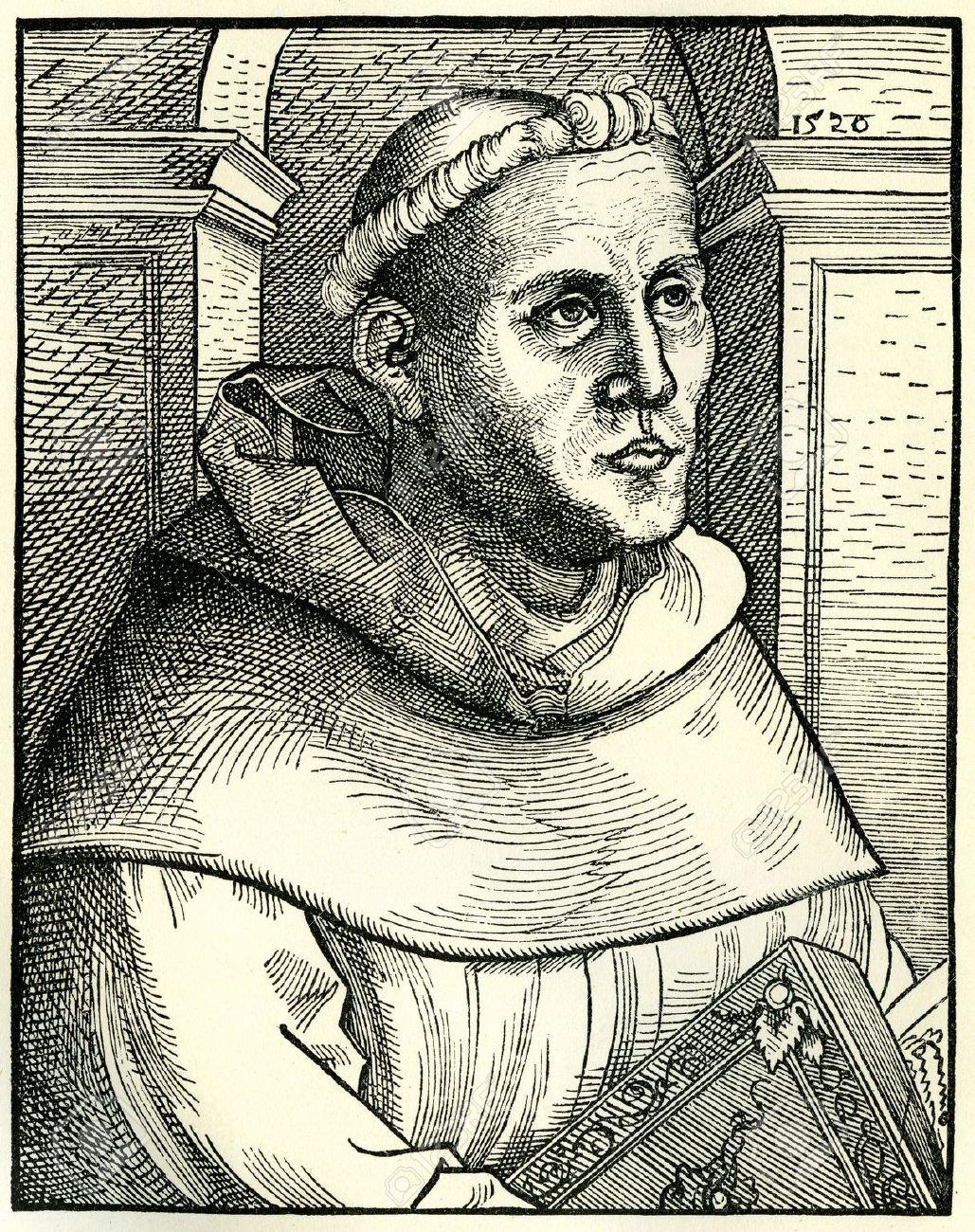 修道士としてのマルティン ・ ル...