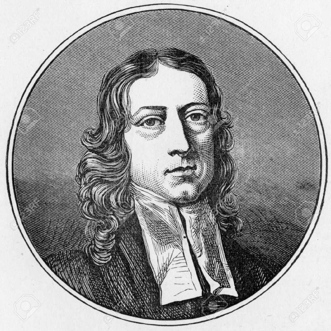 <b>john wesley</b>: <b>John Wesley</b> portrait, engraving from Selections from the <b>...</b> - 24245301-John-Wesley-portrait-engraving-from-Selections-from-the-Journal-of-John-Wesley-1891-Stock-Photo